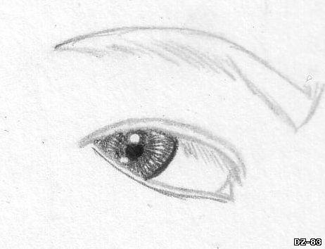 Учимся рисовать портрет. Рисуем портрет поэтапно