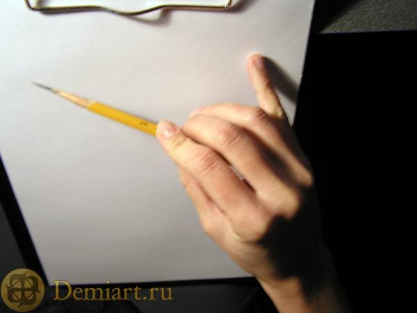 Урок: учимся рисовать карандашом