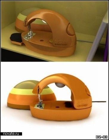 SEW. Швейная машинка и настольная лампа в одном девайсе