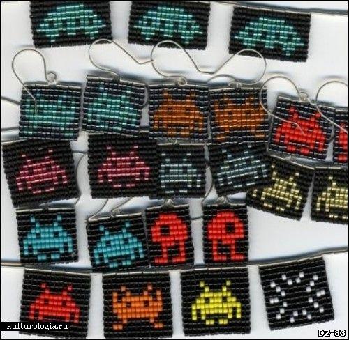 Коллекция необычных дизайнерских сережек. Обзор