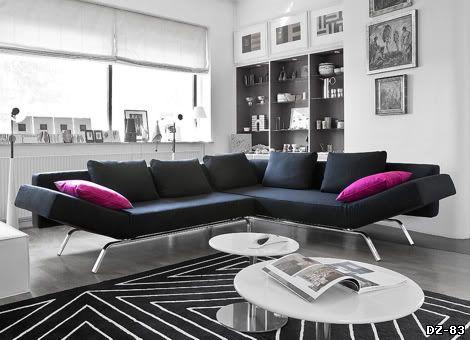 Мягкая система Noon. Производитель Softline. Дизайн Pelikan Copenhagen