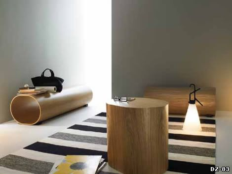 Столик Log. Производитель Swedese. Дизайн Наото Фукасавы