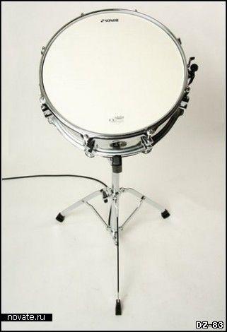 Барабан-светильник Drum Light от дизайн-студии 326